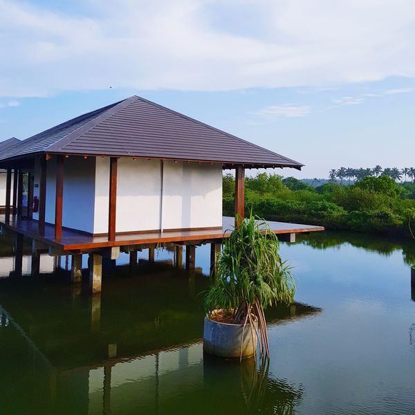 Water villa Chilaw Anantaya Resort Back Waters Water Villa Stilt House Water Architecture Wood - Material Outdoors Tranquility Building Exterior Floating On Water Vacations Beauty