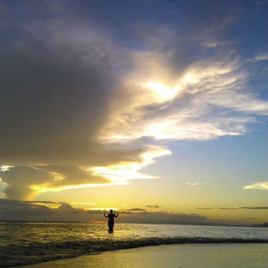Taking Photos Life Is A Beach Eyeem Philippines Sunset Silhouettephotography EyeEm Nature Lover Enjoying The Sun Sea And Sky That's Me :)