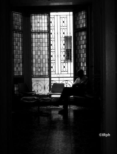 Sitting Men Man Day Monochrome Black And White Idir Reggai