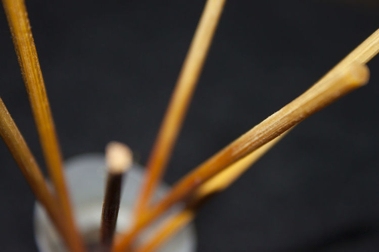 Close Up Of Some Incense Sticks Insence Stick Macro Photography Textured  Wood Arrangement Blured Background Close-up Day No People Outdoors Pattern Scented Selective Focus Sticks