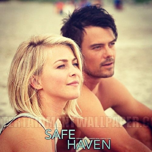 When she looked up at him, it was suddenly easy for her to imagine that her fears were pointless. That he would love her no matter what she told him, and that he was the kind of man who loved her already and would love her forever... Nicholassparks Safehaven MOVIE Jooshduhamel love qoutes