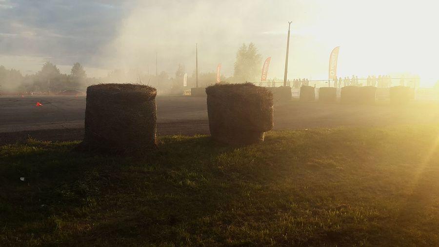 Latvia Daugavpils Drift AfterRun Smoke