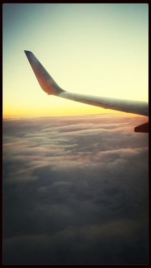 From the window of a plane From An Airplane Window