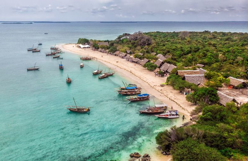 Kwale seaside DJI Mavic Air Kwale Zanzibar Aerial Photography Sea Water Nautical Vessel Transportation Land Nature Beach Travel No People Horizon Over Water Aerial View First Eyeem Photo