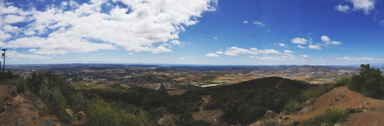 Cloud - Sky Sky Outdoors Landscape Panoramic No People Mountain Scenics Blue City Cityscape Nature