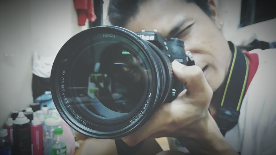 Reflaction Camera CameraMan Len Nikon Freestyle Newtalent NEWTALENTTHEALBUM Capturing Freedom Funny Happy Realxing Humen