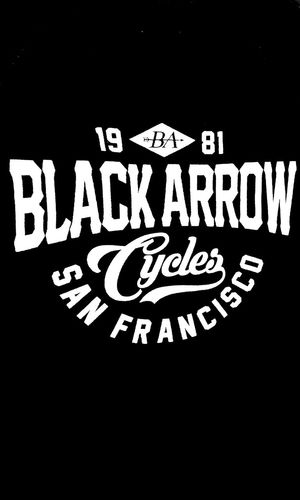 1981 Black Arrows Black Arrow Cycles Est. 1981 San Francisco Black Arrow Cycles T Shirt T Shirts Tee Shirt Sanfransisco Tshirtporn Tshirts Tshirt♡ Tshirt T Shirt Collection Tshirtcollection Blackandwhite Black Arrow Teeshirt Blackarrow BlackArrows Arrow Arrows Teeshirts
