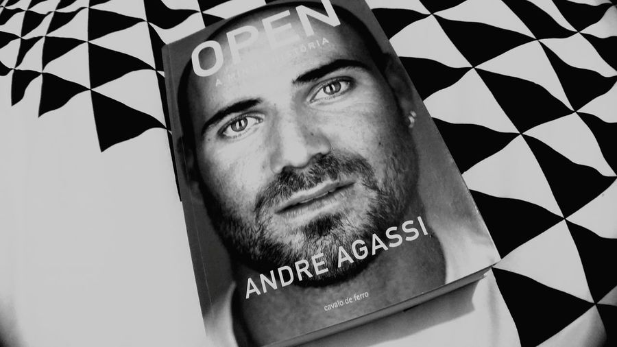 Andreagassi Andre Agassi Books Livros An Autobiography Tennis 🎾 Tennis Sports