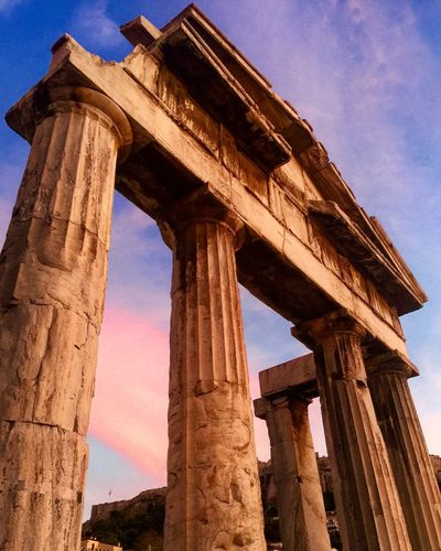Athens is a time machine thru thousands of years of history. Athens Greece Ancient Architecture History Travel Photography