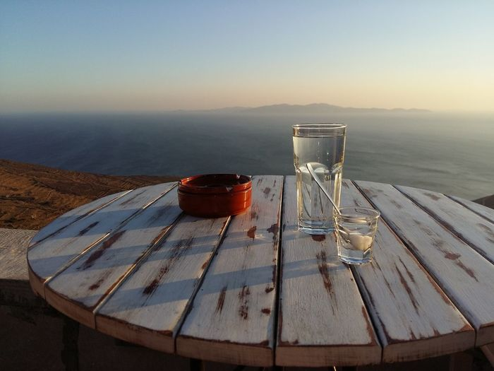 Sea View Greece Water Glass Drink Refreshment Sky Table No People Water Glass Drink Refreshment Sky Table No People Water Glass Drink Refreshment Sky Table No People Water Glass Drink Refreshment Sky Table No People