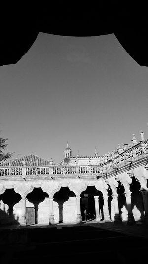 Arc Clear Sky Ancient Civilization Cultures University Palace Arch
