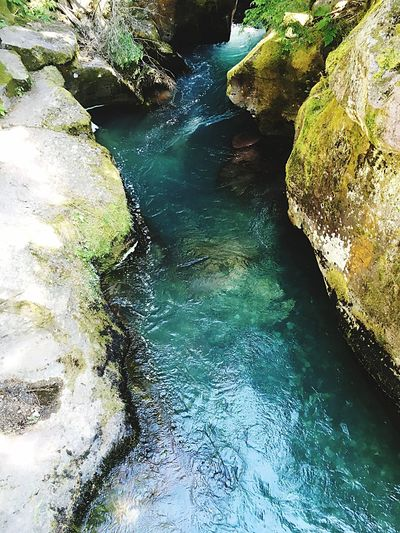 Water Beauty In Nature Nature Rock - Object High Angle View Outdoors No People Tranquility Tranquil Scene Scenics Day Waterfall