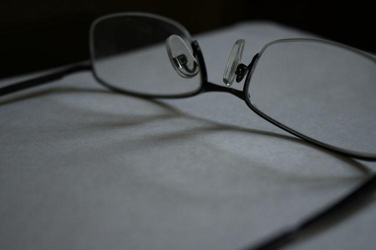 Eyeglasses  Eyesight Glasses Hard Work Paper Work
