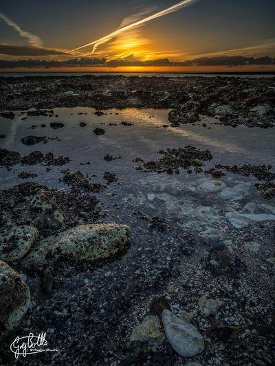 Sunrise on the Beach. Kingsgate Broadstairs Uk Landscape Seascape HDR EyeEm Best Shots - Sunsets + Sunrise EyeEm Best Shots - HDR