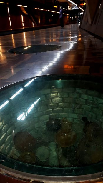 Tramstation Underground Station  Archeological Treasure