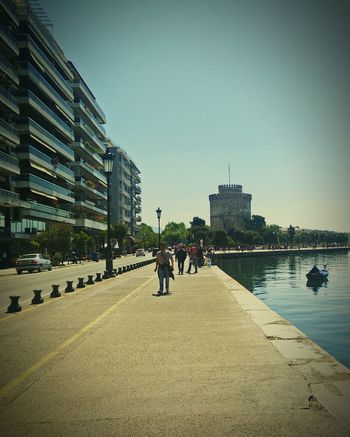 Skg Thessaloniki White Tower Of Thessaloniki Thessaloniki Port  City Travel Destinations Waterfront Tranquility