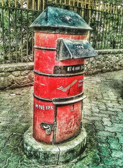 Day No People Red Outdoors Letter Box An Old Long Forgotten Box Even I Have Seen Most Wonderfuldays Ancestor Of Email
