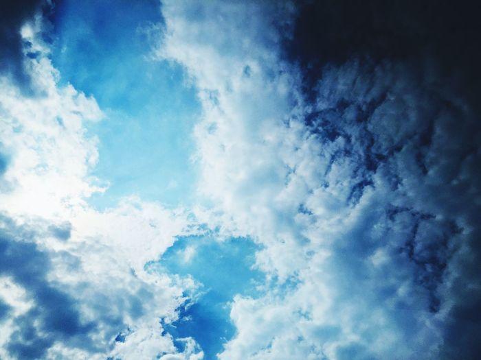 cloud like waves