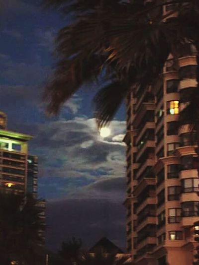 Moonlight Noche Moonlight Nightphotography Moon Noches De Verano Viña Del Mar Luna❤ Luna Llena Summertime Summer ☀