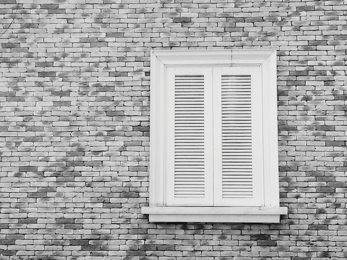 Brock windows and wall Seaman Stone Sandstone City Backgrounds Full Frame Textured  Pattern Window Close-up Air Duct Shutter Closed Latch Building Residential Structure Brick Wall