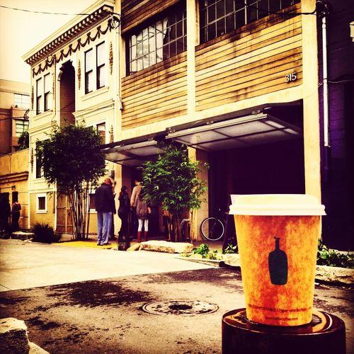 #BlueBotte #soy #latte #coffee #caffeine