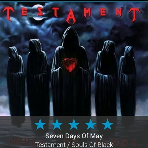 Sonzeira do caralho! Testament Thrashmetal Heavymetal