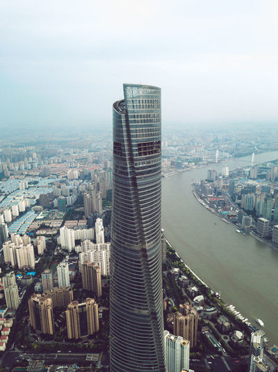 Shanghai, China Architecture Building Exterior Built Structure City Cityscape Modern Skyscraper Tall