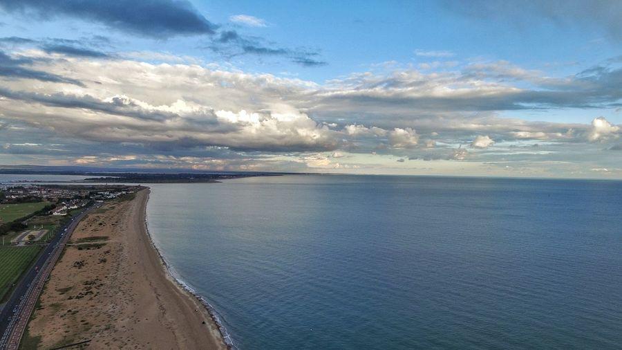 Water Sea Beach Sky Landscape Horizon Over Water Cloud - Sky Tide Coast Calm Coastline Pebble Beach Seascape Coastal Feature Shore Tranquil Scene