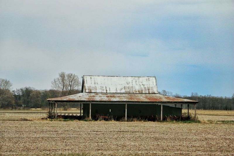 Geometry Scavenger Great Views Cold Spring Countryside Roaming Indiana Abandoned Crops Rust