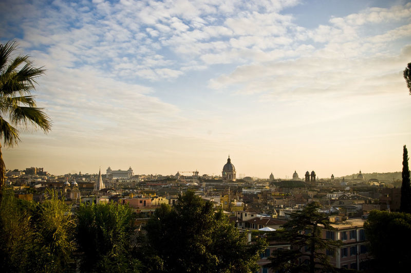 Check This Out EyeEm Best Shots EyeEmNewHere Moving Around Rome Roma Rome Architecture Building Exterior City Cityscape Day Europe Holiday Italy Nature No People Outdoors Sky Sunset Travel Destinations Tree