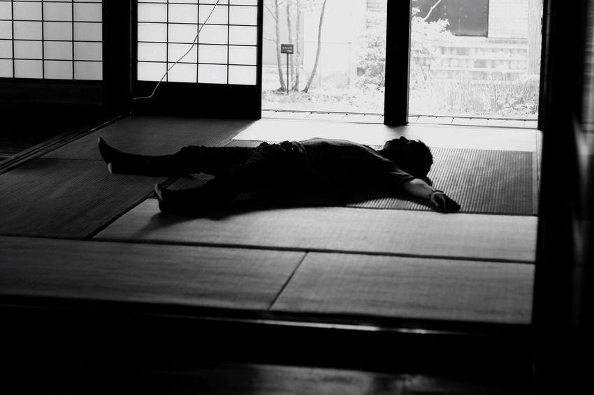 昼寝。 Japan Photography 盛岡市 Enjoying Life Photography 岩手 手づくり村 古民家 Japan