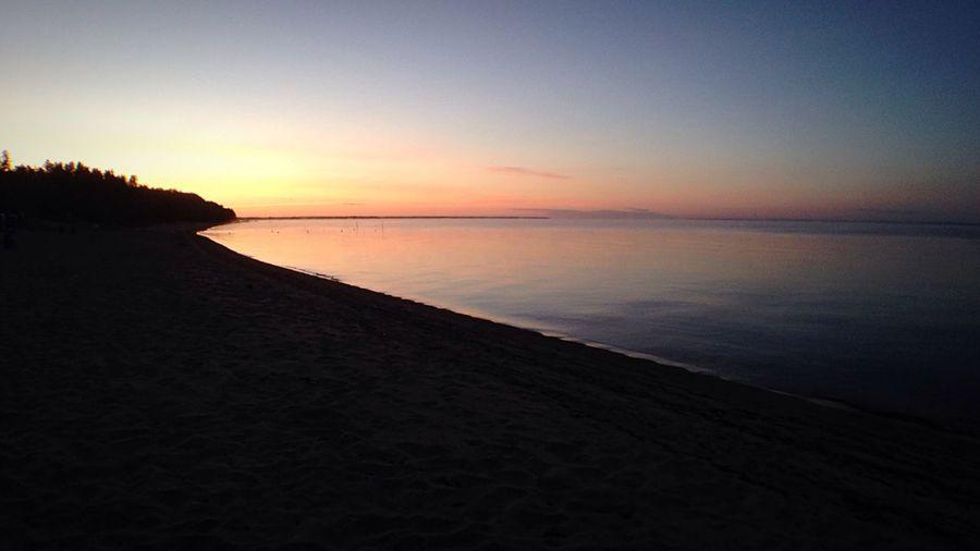 Se lever à 5h30 parce que t'avais évalué que le soleil se levait sur le Lac. Réaliser qu'en fin de compte, il se lève derrière les arbres... Nice Atmosphere LacStJean Quebec Sunrise Sunrise_sunsets_aroundworld