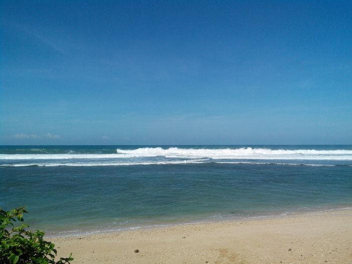 Pantai sayang heulang @kab garut