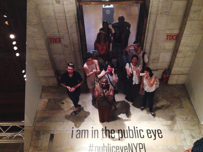 Public Eye NYPL EyeEm EyeEm Gallery Eyeem Meetup Nyc