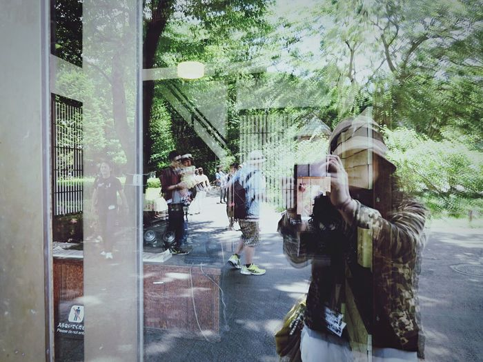 EEA3 - Tokyo Reflection Reflections EyeEm Gallery Streetphoto_color Street Photography Portrait Window