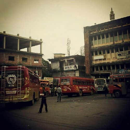 Bus stand kazchakal Kanhangad