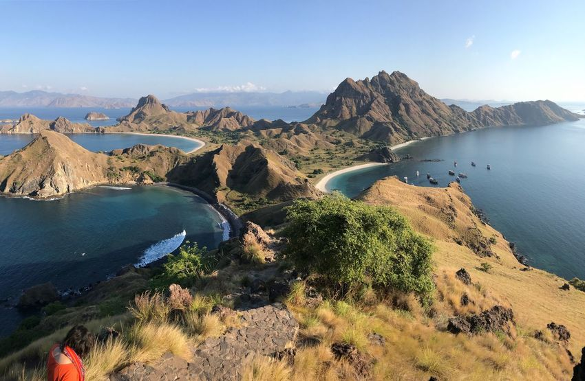 This is padar Padar EyeEm Selects Water Sky Mountain Scenics - Nature Sea Tranquil Scene Beauty In Nature Tranquility Nature Land Day Beach Non-urban Scene No People Idyllic Sunlight Mountain Range Rock Travel Outdoors