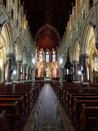 St. Colman's Cathedral Cobh Cobh Ireland Ireland Ireland🍀 Religion Place Of Worship Arch Spirituality Indoors  Pew No People Altar Architecture