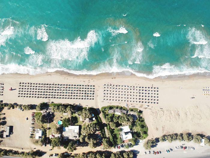 Beach Sea Crete Greece Dji First Eyeem Photo EyeEmNewHere