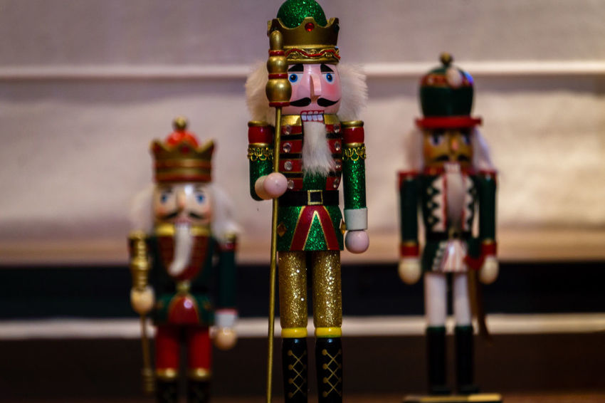 the nutcracker king Art And Craft Close-up Figurine  Focus On Foreground Indoors  Multi Colored No People Nutcrackers Variation