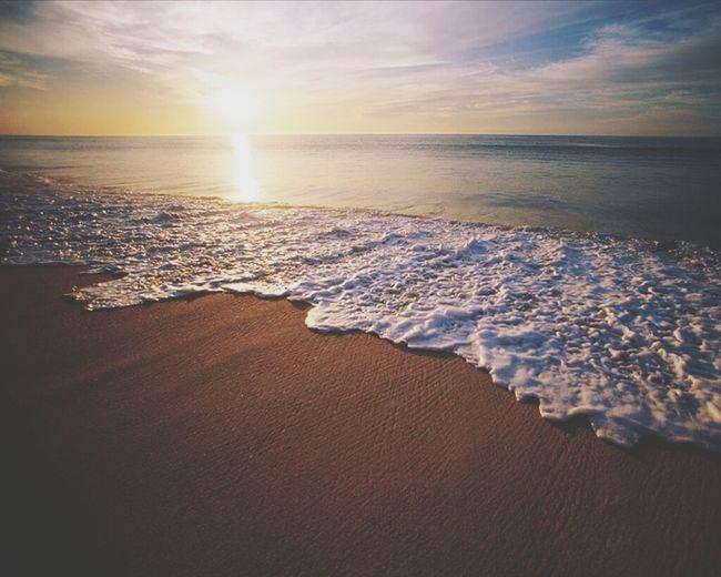 Relaxing Sunset Beach Life Sabratha Libya Sabratah