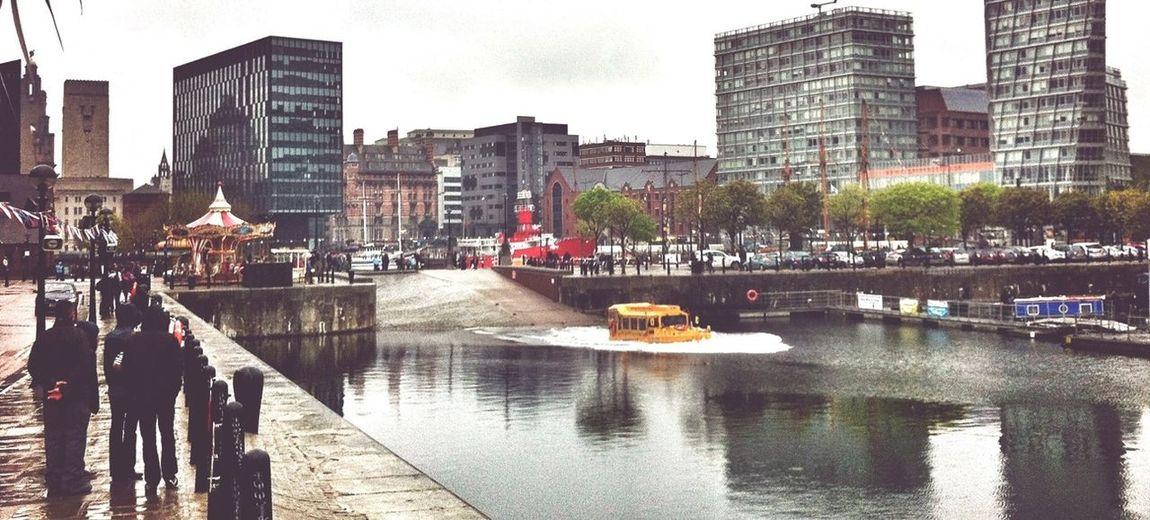 Duck Liverpool Albert Dock DUKW