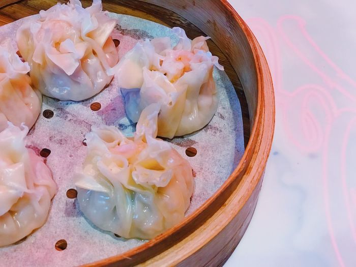 Colors Chinese Food Steamed Dumplings Dumpling  Food Ready-to-eat Indoors  Freshness Close-up