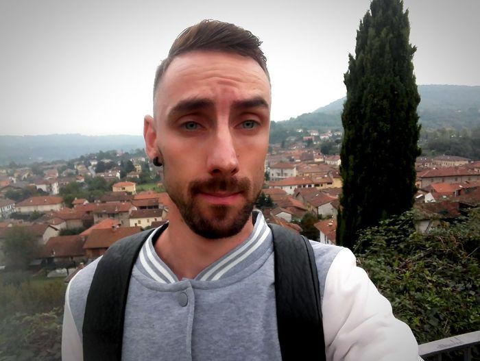 Portrait Beard Looking At Camera Headshot Front View