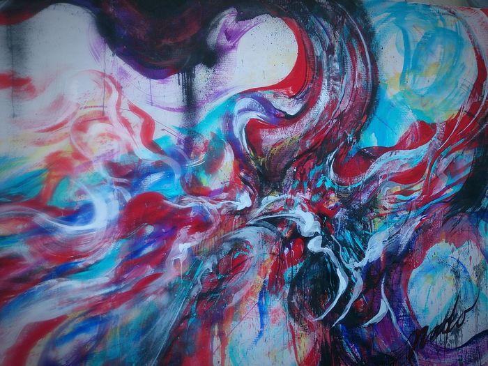 9/11NaokoKitamura Livepainting Art Painting Donation