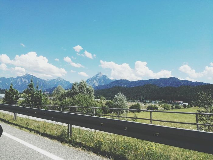 The Alps On The Way Mountains Mountains And Sky Mountain View Road Roadtrip ❤ Fresh On Eyeem  Showcase July Travel Photography GERMANY🇩🇪DEUTSCHERLAND@ Taking Photos Feel The Journey The Great Outdoors The Essence Of Summer Original Experiences Landscapes Landscape_photography Travel Live For The Story