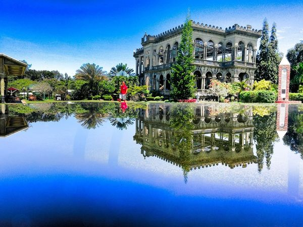 My old mansion. 😉😉😉 Reflection Built Structure Building Exterior Water Tree Sky Outdoors Architecture Nature Itsmorefuninph Justgopinas Wheninbacolod Silaynegros