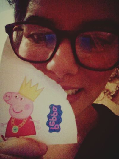 Peppa Pig Stikers Pig Face