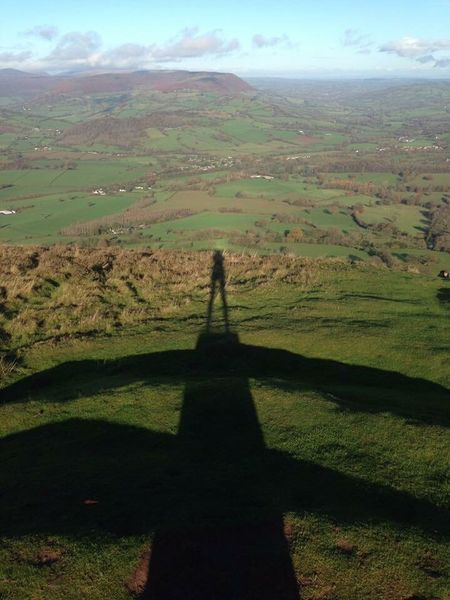 Breathing Space Sillouette Skirrid Fawr Mountain