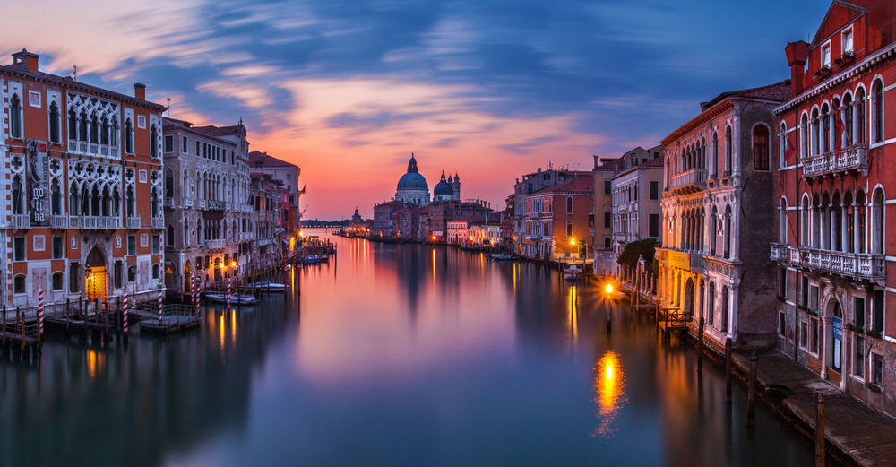 Beautiful Venice, Italy. Architecture Building Canal Church City Cityscape Cloud - Sky Dusk Europe Historic Historical Illuminated Italy Landmark Panorama Romantic Streetphotography Sunrise Tourism Town Travel Destinations Urban Vacation Veneto Venice
